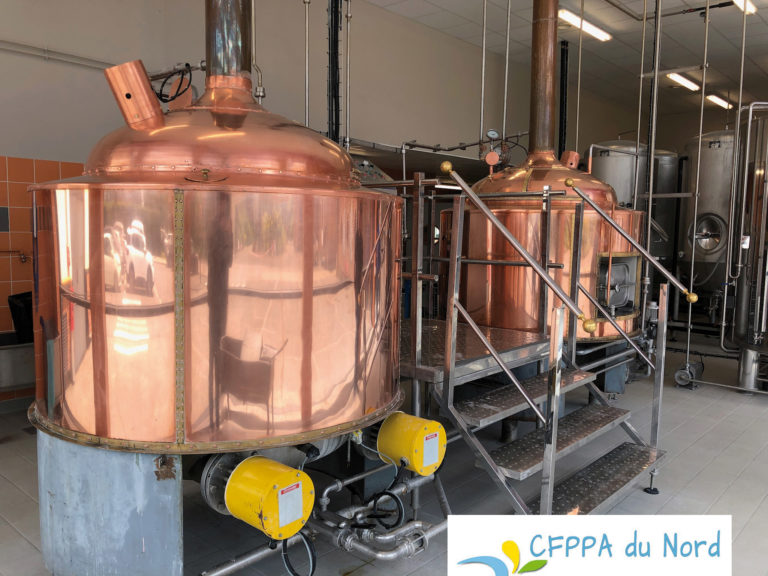 Lycée agricole CFPPA douai formation brassicole