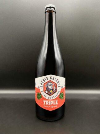 bouteille bière triple brebis galeuse 75cl