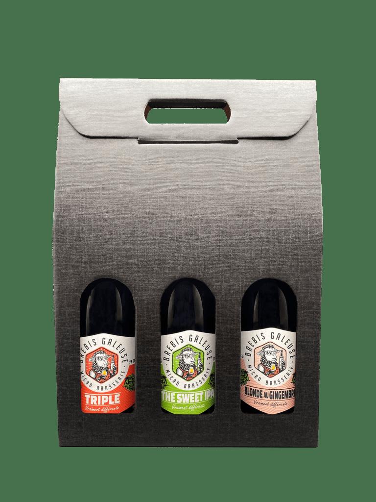 Coffret cadeau 3 bières au choix