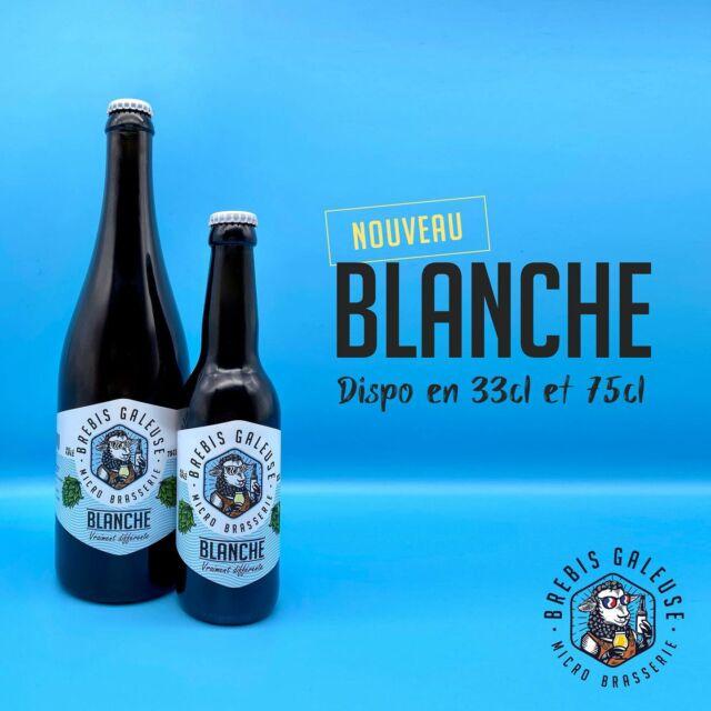 LA BLANCHE 🤍 : la petite nouvelle de notre gamme !!!  Elle arrive à pic ! 😎 Légère et ultra rafraîchissante, elle est parfaite pour les journées chaudes. 🤘😅 ☀️ ⛱   Disponible en 33 cl et 75 cl.   #brebisgaleuse #BBG #craftbeer #biere #bieredunord #brasserieartisanale #biereartisanale #bierebrebisgaleuse #beer #brasserie #brasseriebrebisgaleuse #microbrasserie #artisan #madeinhautdefrance #roellecourt #saintpolsurternoise #biereblanche #biereete #été  #stpolsurternoise  #beerlove #bieredunord #jesoutiensmoncommercedeproximité #beergeeks #circuitcourt #artisanat  #jemedesaltere #boissonfraiche