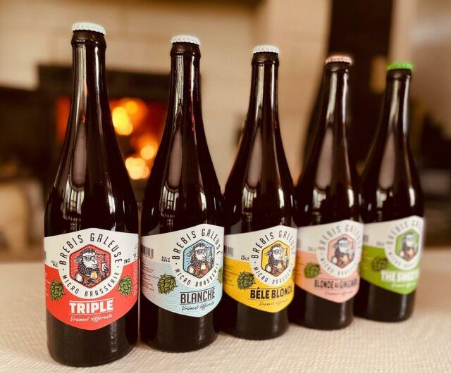 Laquelle on met au frais pour ce soir ? 🤔 Allez la Triple ! 😋😋😋 Et vous ?   #lekiffdusamedisoir #brasseriebrebisgaleuse #triple #bieredunord #beer #beerporn #beerkraft #beerfamily #chill