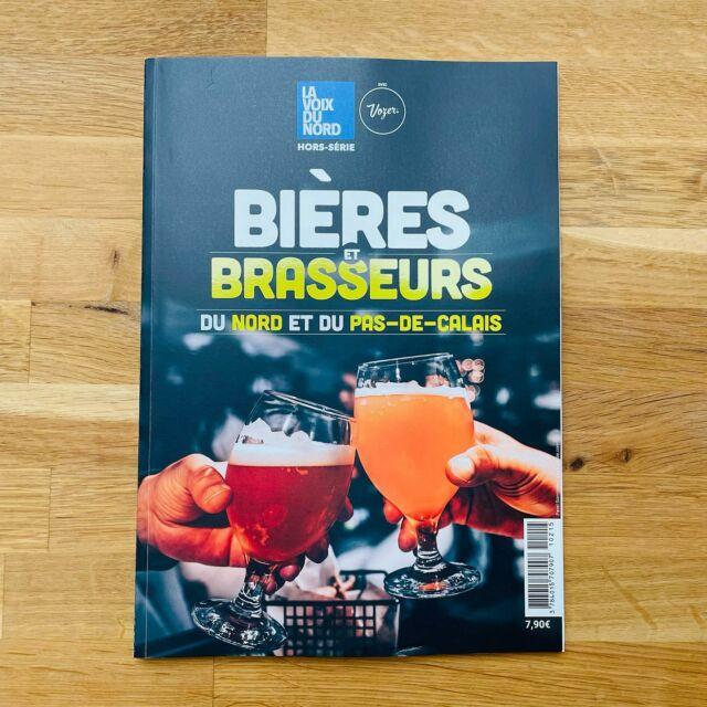 Le hors-série de la voix du Nord sur les bières et brasseurs vient de paraître!  Et nous avons le plaisir d'y voir figurer notre brasserie 🤩🤗 !!!   🙏 @lavoixdunord   #brebisgaleuse #BBG #craftbeer #biere #bieredunord #brasserieartisanale #bierebrebisgaleuse #beer #brasseriebrebisgaleuse #microbrasserie #artisan #saintpolsurternoise #brewery #beerlove #bieredunord #bierearras #artisanat #drinkcraft #yummy #summer #arras #foodbeer #brasseriedunord #voixdunord